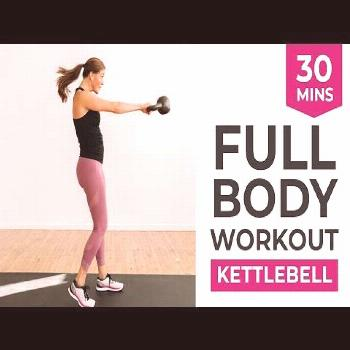 30-Minute Kettlebell HIIT Workout for Women#30minute