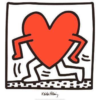 KEITH HARING Untitled (1984) 27.5