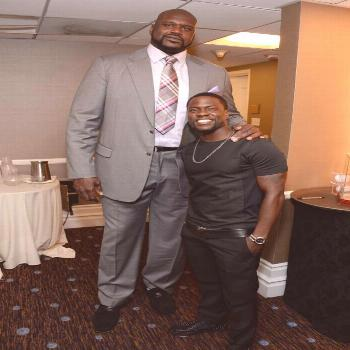 Kevin Hart Meets Shaq, Takes Maginificent Photo