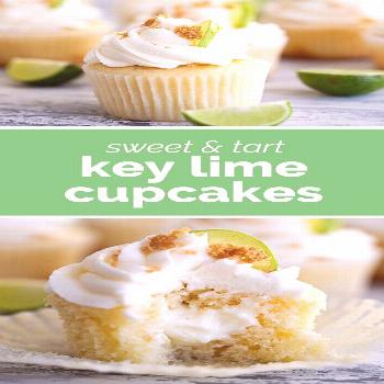 Key Lime Cupcakes Tart and sweet, these Key Lime Cupcakes are lightly lime flavored cupcakes filled