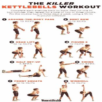 Okay, This Kettlebell Superset Might Just Be The Fastest Way To Get Results Yoga Workout – A Begi