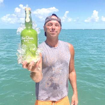 We're celebrating the release of Kenny Chesney's new song, Knowing You, by drinking Key Lime Ru